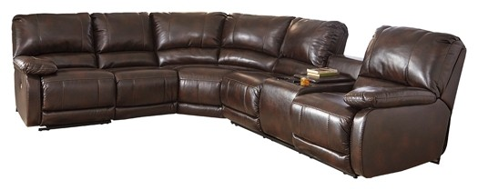 Hallettsville 4-Piece Sectional with Power