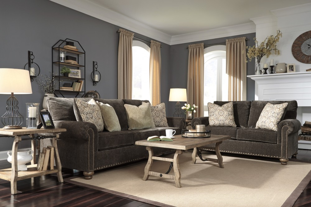 Stracelen - Sable - Sofa & Loveseat