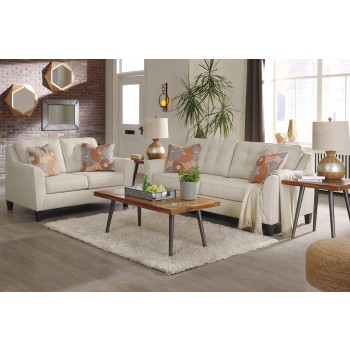 Benissa - Alabaster - Sofa & Loveseat