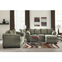 Darcy - Sage - Sofa Chaise & Loveseat