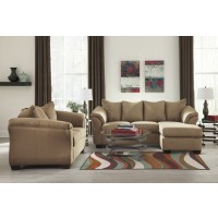 Darcy - Mocha - Sofa Chaise & Loveseat