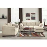 Darcy - Stone - Sofa Chaise & Loveseat