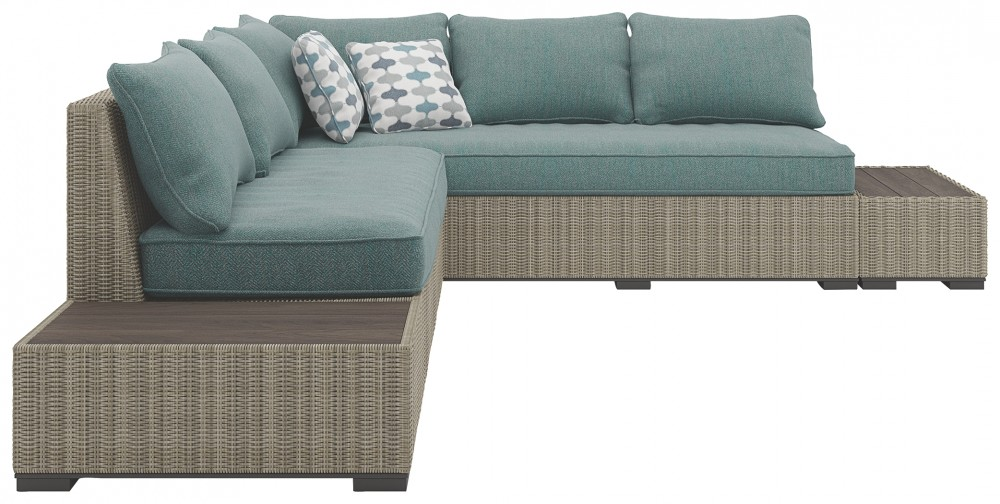Silent Brook 4 Piece Outdoor Sectional Sectionals Pruitt S Fine