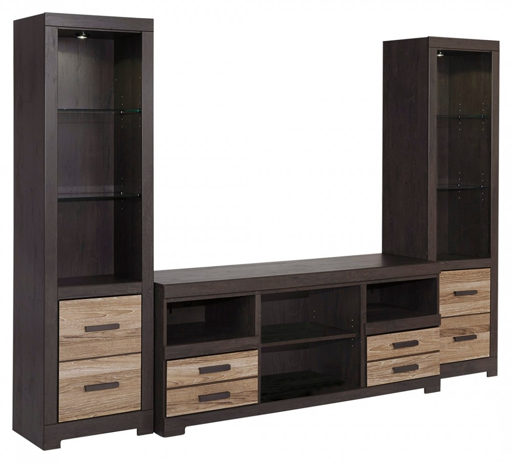 Harlinton 3-Piece Entertainment Center