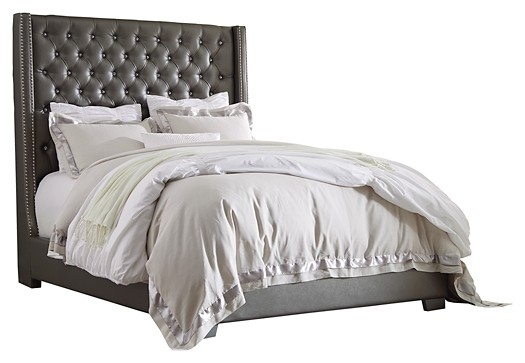Coralayne - King Upholstered Bed