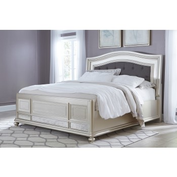 Coralayne - King Panel Bed