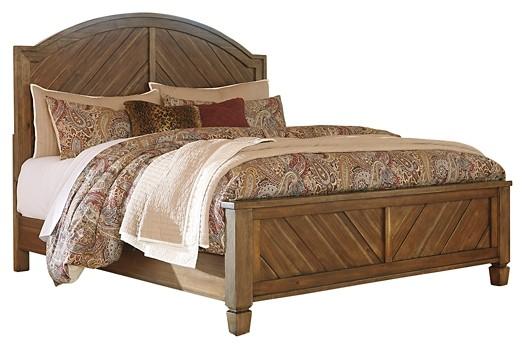 Colestad - King Panel Bed