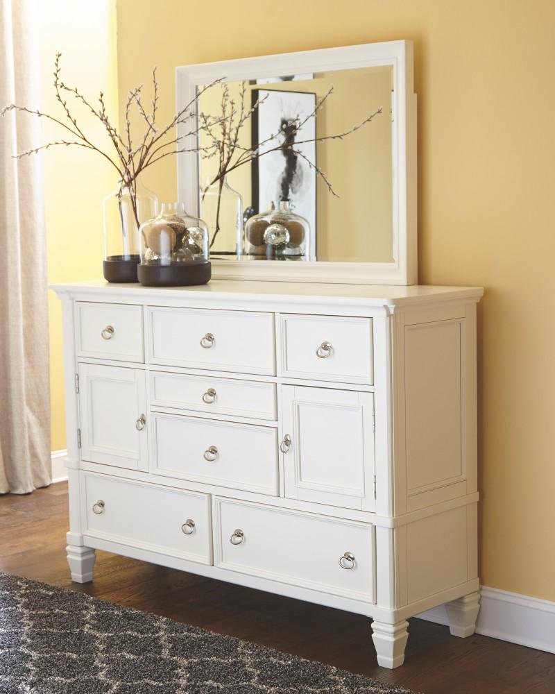 Prentice Dresser And Mirror B672b1 31 36 Bedroom