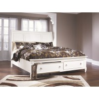 Prentice - Prentice California King Sleigh Storage Bed