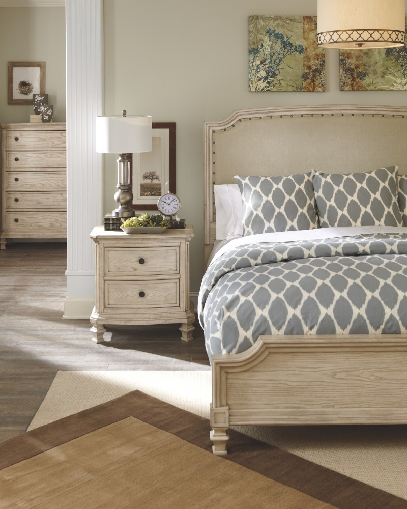 Demarlos California King Upholstered Panel Bed B693b9 76
