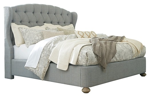 Ollesburg - Cal King Upholstered Bed