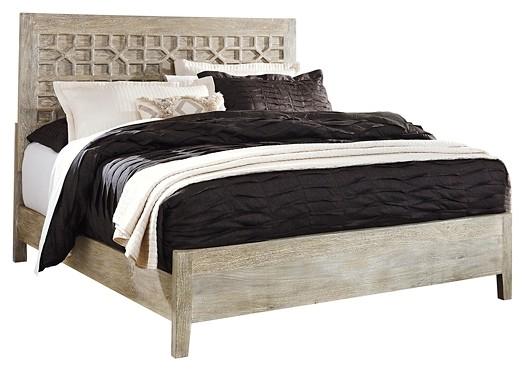 Halamay - King Panel Bed