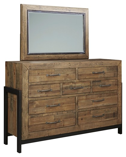 Sommerford - Sommerford Dresser and Mirror