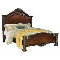 North Shore Queen Panel Bed