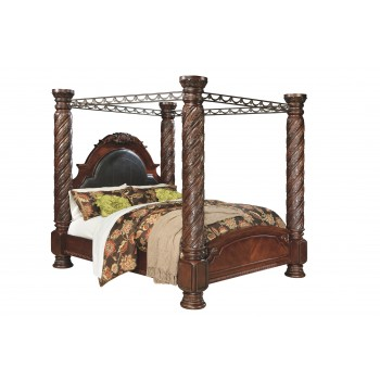 North Shore - King Poster Bed with Canopy