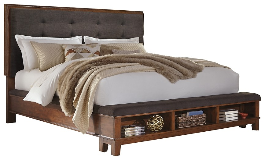 Ralene - King Upholstered Panel Bed