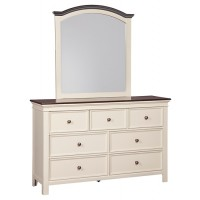 Woodanville Dresser and Mirror
