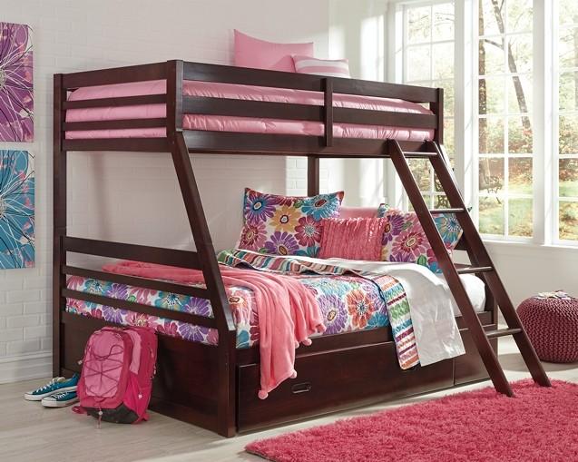 Halanton Halanton Twin Over Full Bunk Bed With Storage