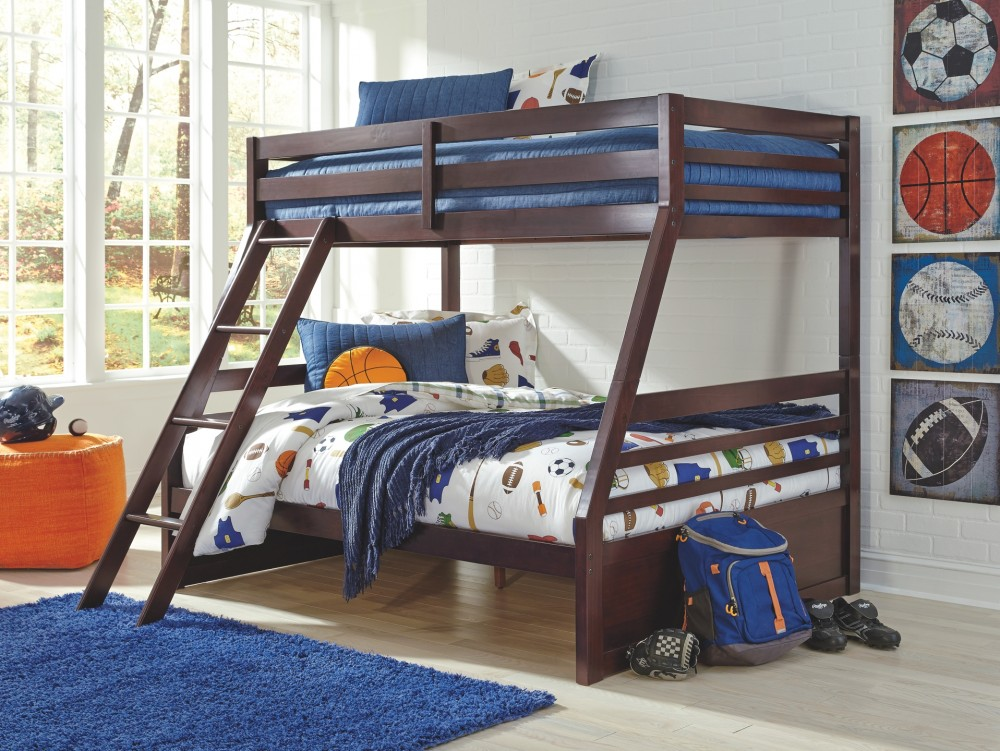 Halanton Halanton Twin Over Full Bunk Bed With Storage B328yb1 B32850 B32858p B32858r Bunk