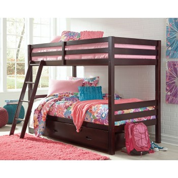 Halanton - Halanton Twin over Twin Bunk Bed with Storage