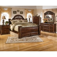 Gabriela - Gabriela Queen Poster Bed with Storage