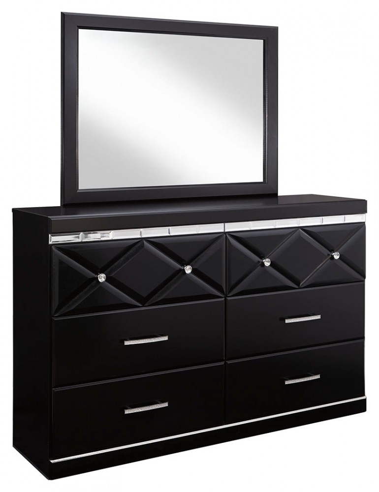 Fancee Dresser and Mirror