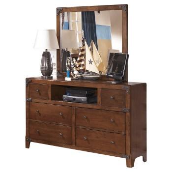 Delburne Dresser and Mirror