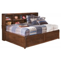 Delburne Full Bookcase Bed