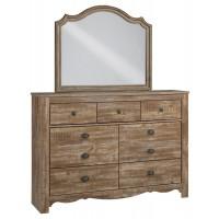 Shellington Dresser and Mirror