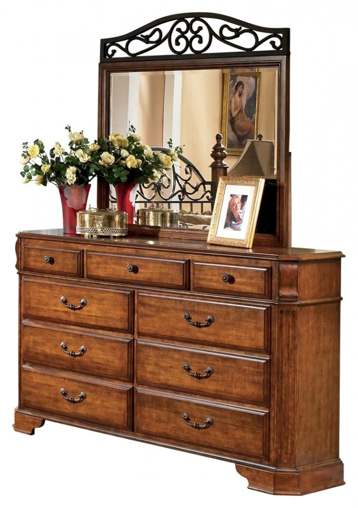 wyatt dresser and mirror b429b1 31 36 dresser mirror national mattress furniture warehouse. Black Bedroom Furniture Sets. Home Design Ideas