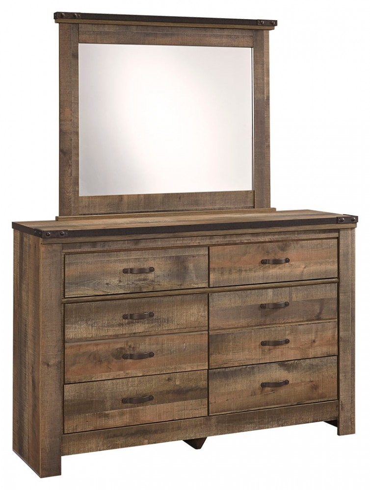 Trinell - Trinell Dresser and Mirror