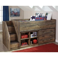 Trinell - Trinell Twin Loft Bed with Storage