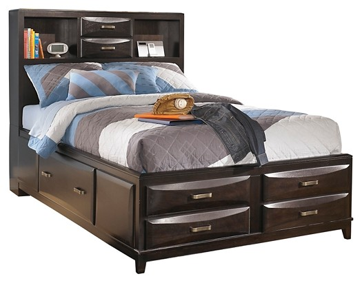 Kira - Full Storage Bed with 7 Drawers