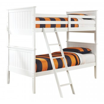 Lulu - 3-Piece Twin over Twin Bunk Bed