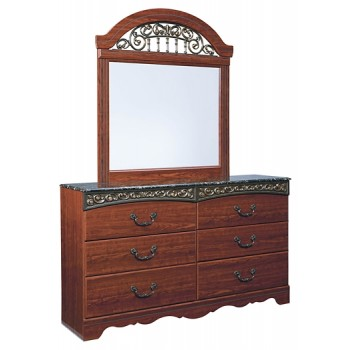 Fairbrooks Estate Dresser and Mirror