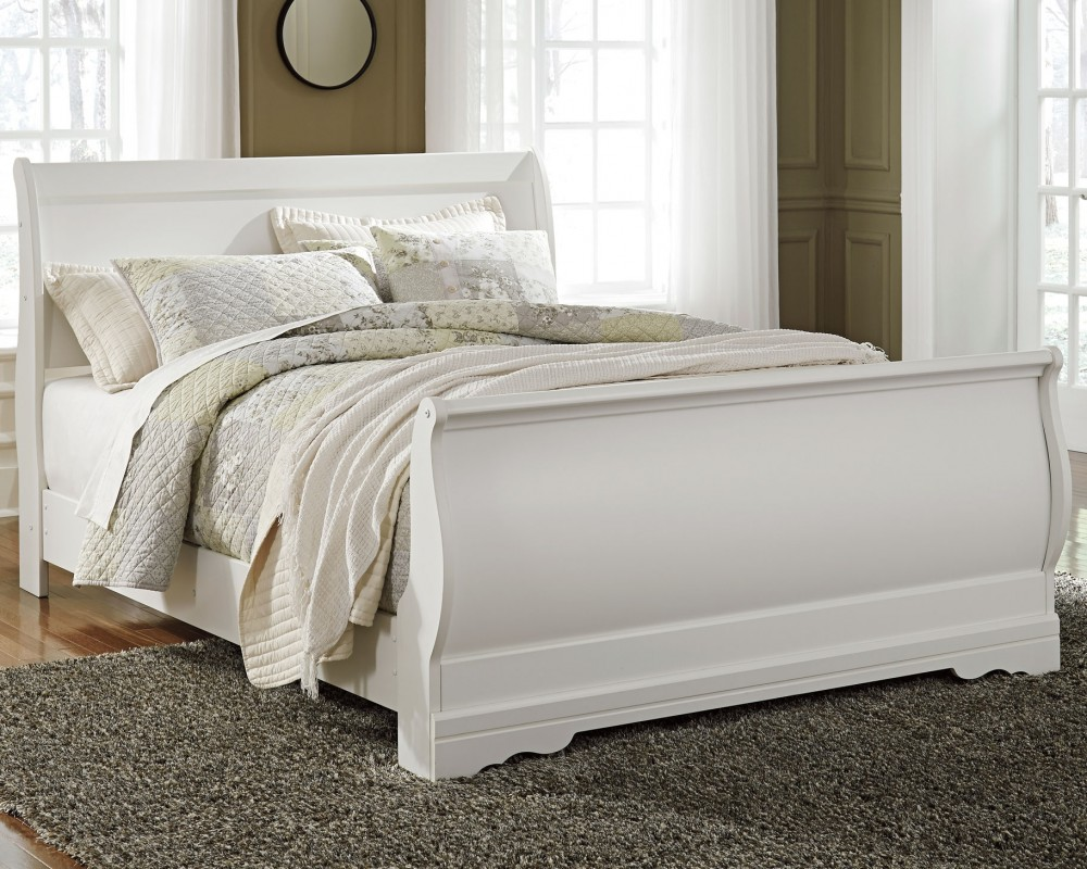 Anarasia - Anarasia Queen Sleigh Bed