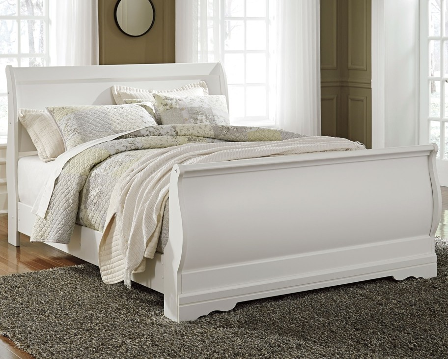 Anarasia - Queen Sleigh Bed