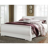 Anarasia - King Sleigh Bed