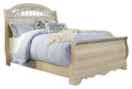 Catalina - Queen Sleigh Bed