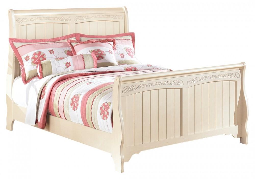 Cottage Retreat Full Sleigh Bed   B213B16-B21384-B21387-B21388 ...
