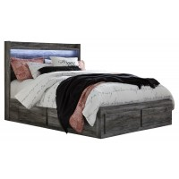 Baystorm - Baystorm Queen Panel Bed with 2-Storage