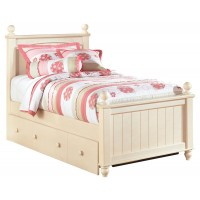 Cottage Retreat Twin Poster Bed with Trundle