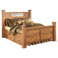Bittersweet Queen Poster Bed with Storage
