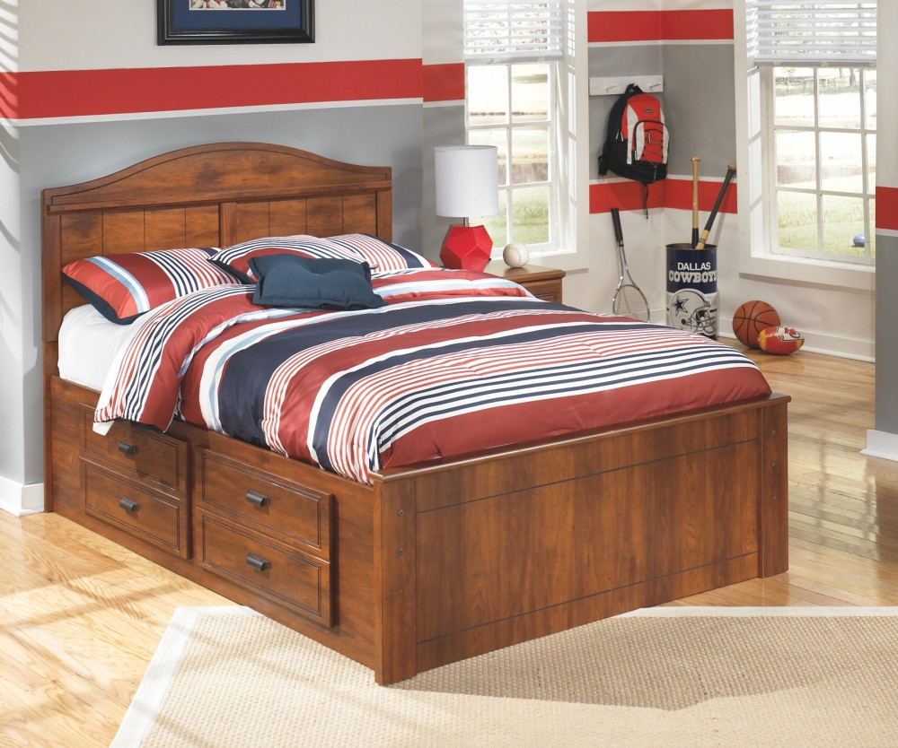 Barchan Barchan Full Panel Bed With 2 Storage B228b14