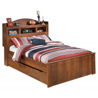 Barchan - Full Bookcase Bed with Trundle