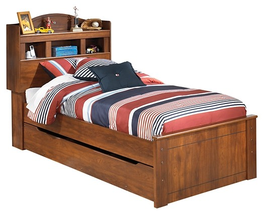 Barchan - Barchan Twin Bookcase Bed with Trundle