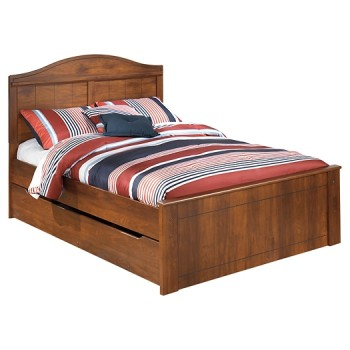 Barchan - Full Panel Bed with Trundle