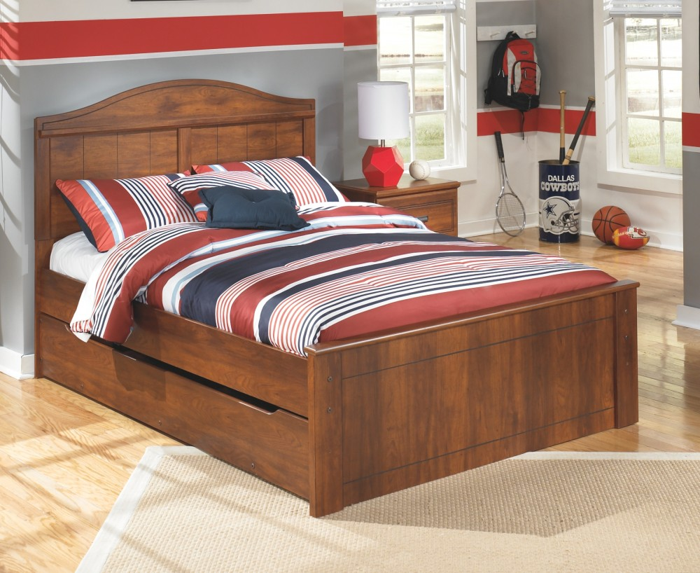 Barchan Barchan Full Panel Bed With Trundle B228b6