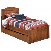 Barchan - Twin Panel Bed with Trundle