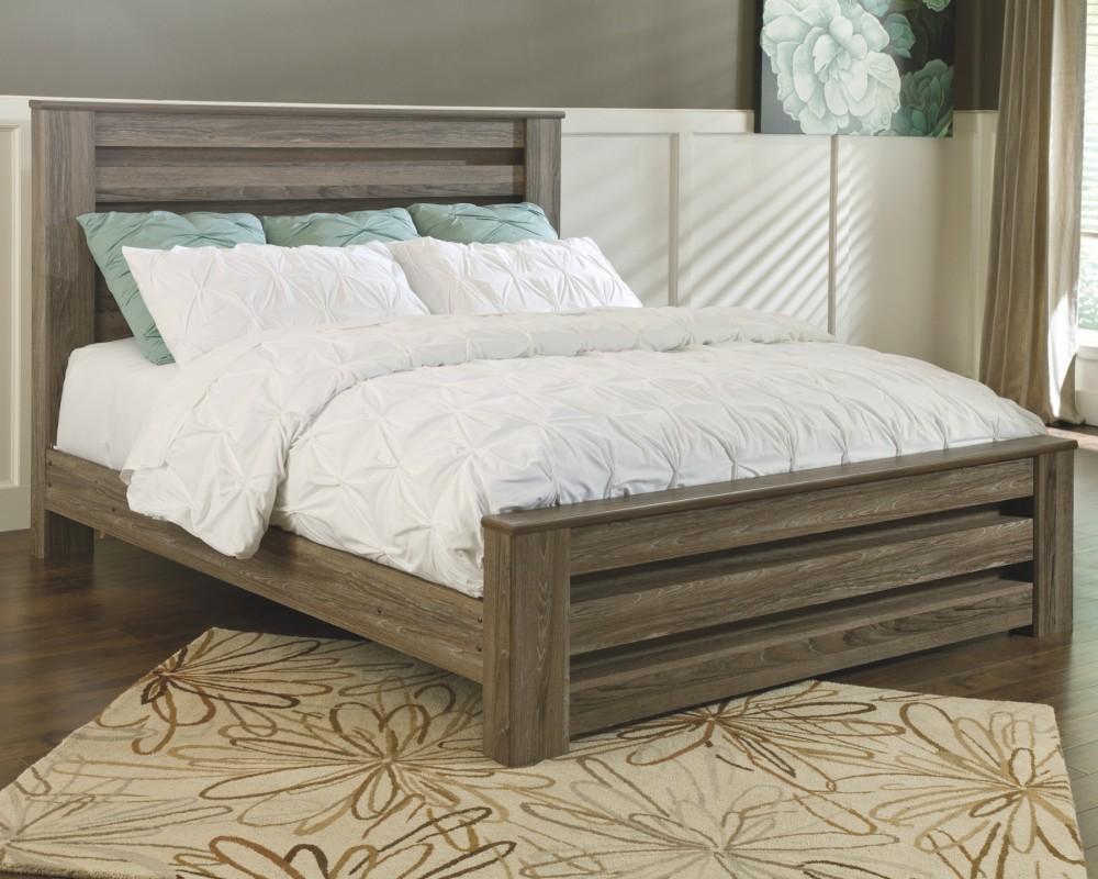 Zelen King Poster Bed